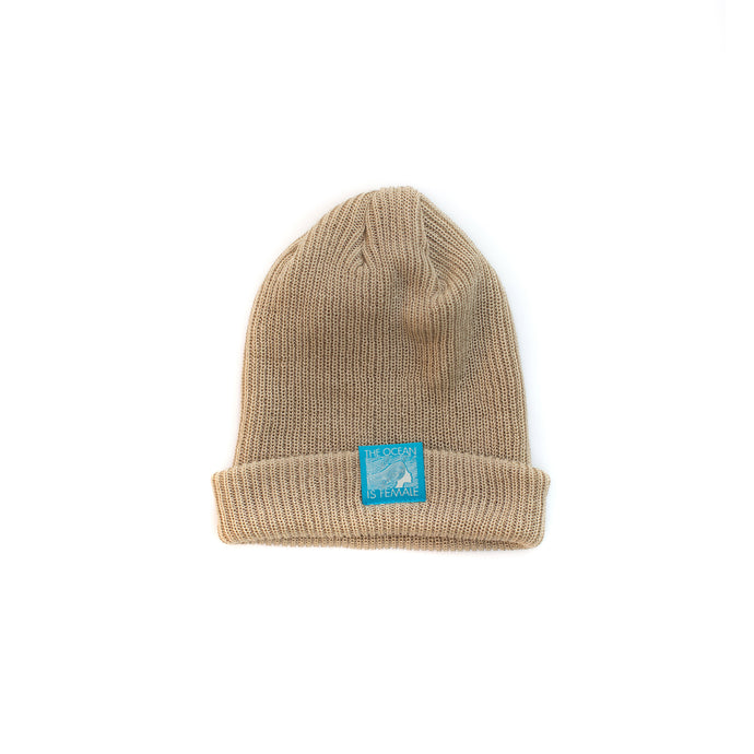 The OisF Beanie (Men/Women) Tan