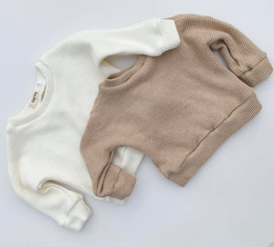 COSY KNIT ALMOND