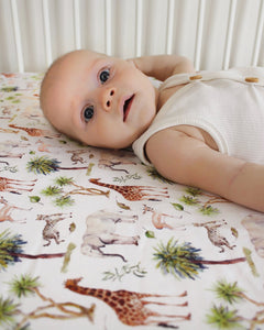 Archer | Fitted Cot Sheet