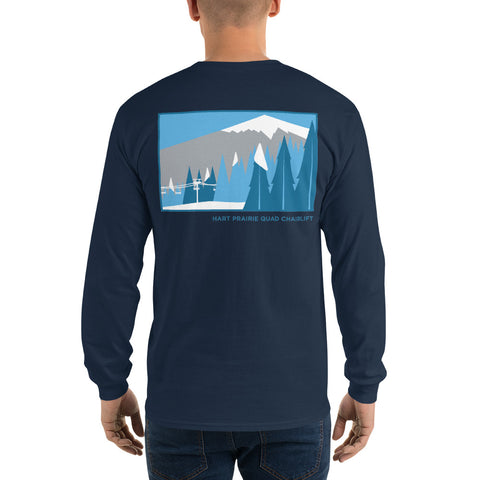 Hart Prairie Quad Chairlift Men's Long Sleeve