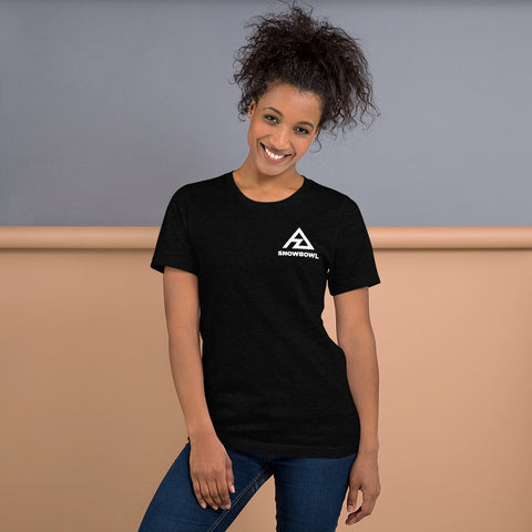 Classic Logo on Pocket Ladies T-Shirt