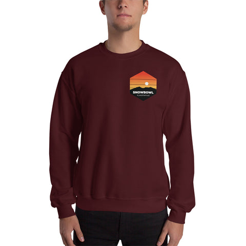 Sunset Pocket Logo Men's Sweatshirt