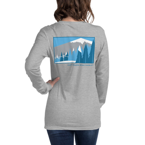 Hart Prairie Quad Chairlift Ladies Long Sleeve