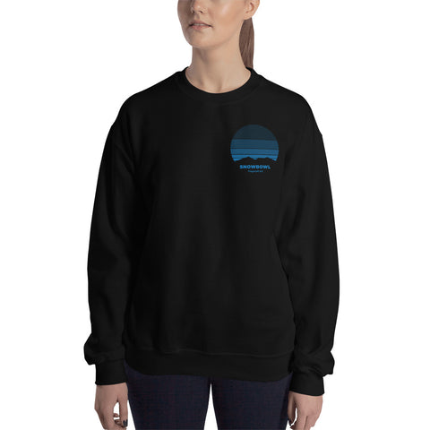 Sunrise Pocket Logo Ladies Sweatshirt