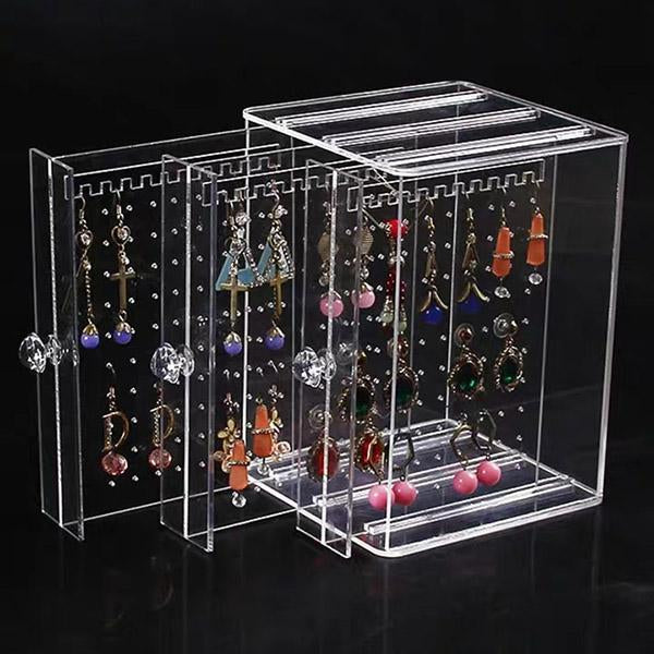 Acrylic Jewelry Box (Holds 108 Pairs Buy 2 free shipping)