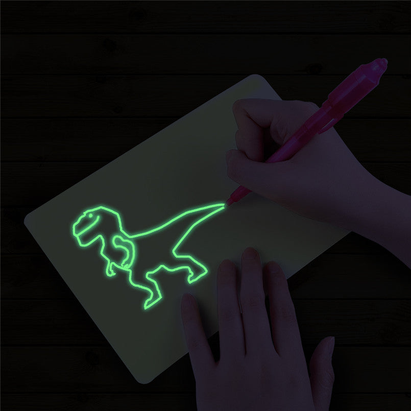 (Buy 2 free shipping)Draw With Light-Fun And Developing Toy