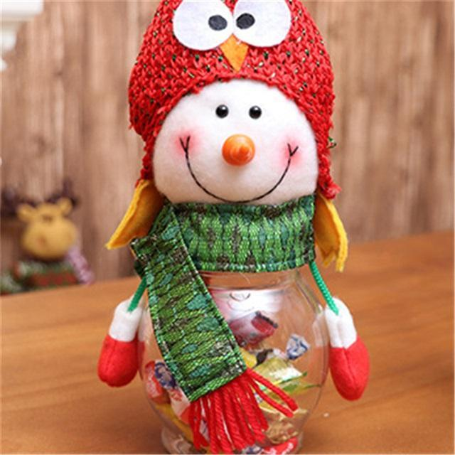 Christmas-Santa candy jar