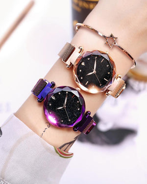 Free Shipping&30% OFF Six Colors Starry Sky Watch Perfect Gift Idea!