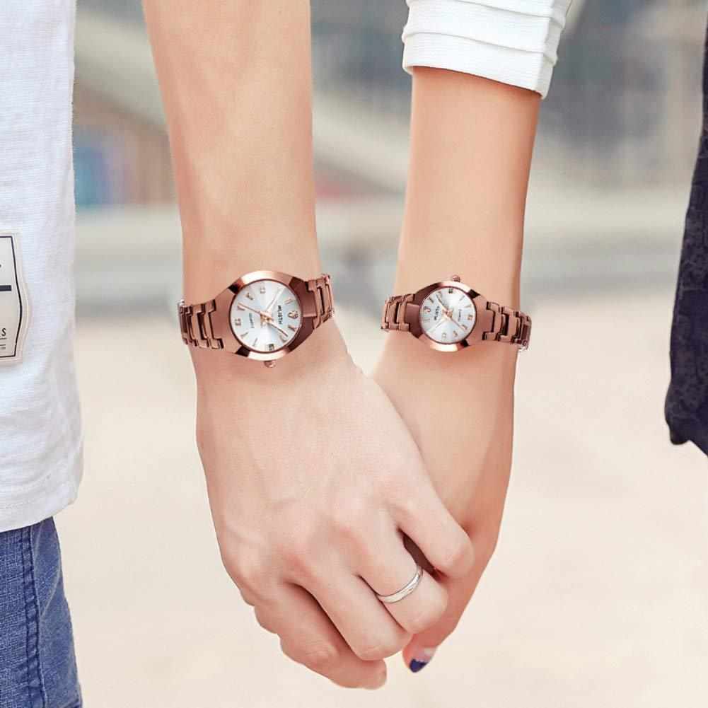 (Last day promotion)Couple Luxury  luminous waterproof watch business casual design