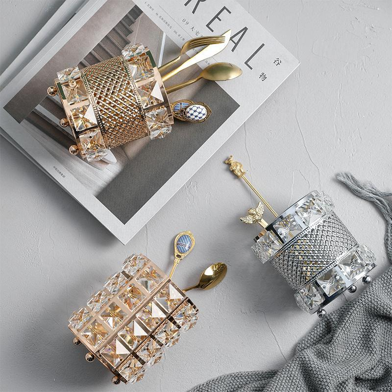 (Buy 2 Free Shipping 10%OFF)Bling Makeup Brush Holder