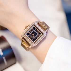 (Free shipping)Luxury diamond watch