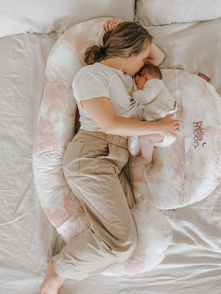 BellaMoon® Full Moon 7-in-1 Pregnancy and Nursing System - Feather Nest
