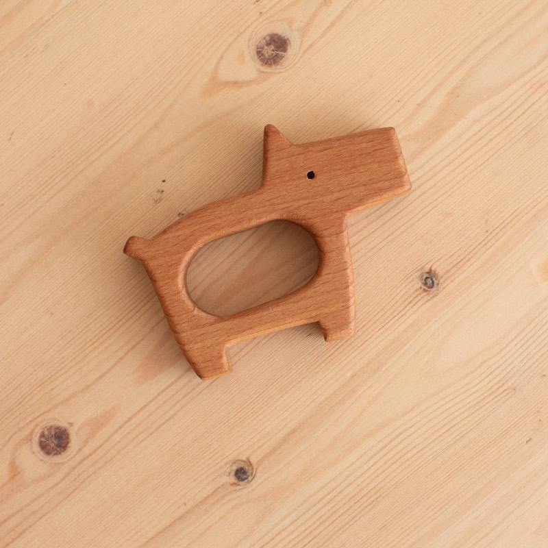 Wooden Teether - WOWMOM