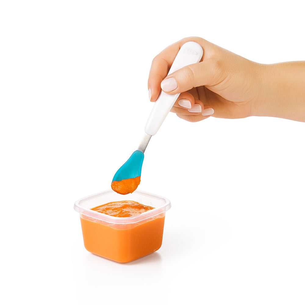 OXO Tot Feeding Spoon Set with Soft Silicone