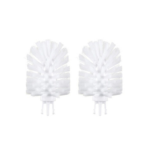 OXO TOT Bottle Brush Replacement Head Set 2 Pk - White - WOWMOM