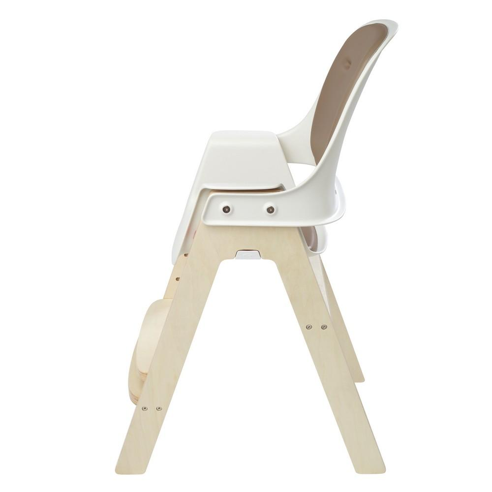 Sprout High Chair - Taupe/Birch - WOWMOM