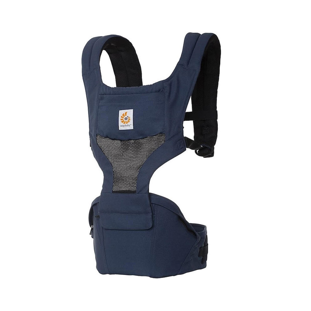 Ergobaby Hipseat Cool Air Mesh Carrier - Raven