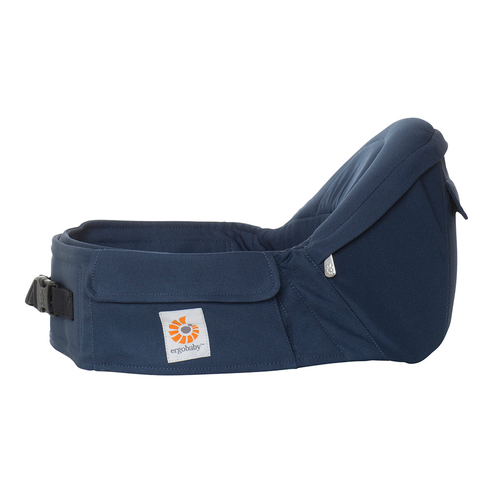Ergobaby Hipseat Cool Air Mesh Carrier - Raven (1)