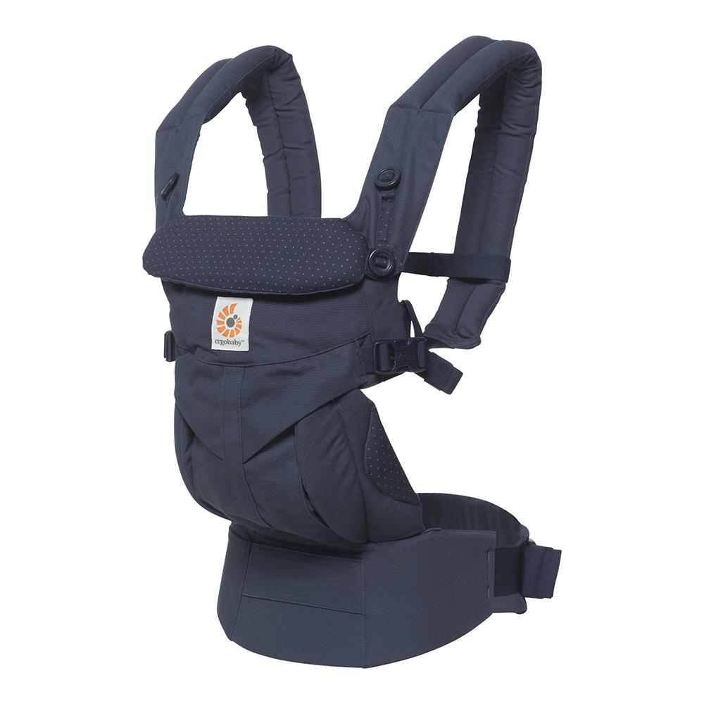 Ergobaby Omni 360 Carrier - Navy Mini Dots - WOWMOM