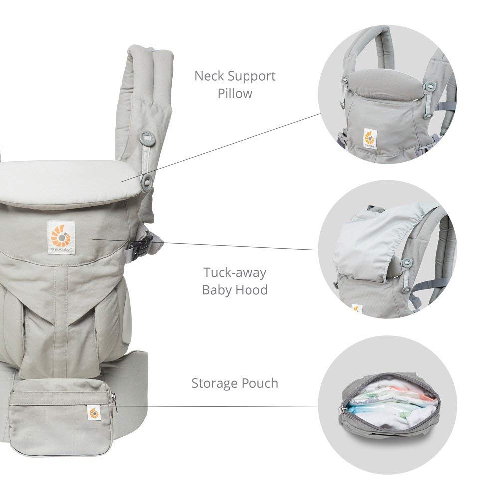 Ergobaby Omni 360 Cool Air Mesh Carrier - Raven (6)