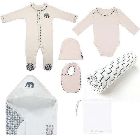 Mortimer Stripe 6 Piece Gift Set - WOWMOM