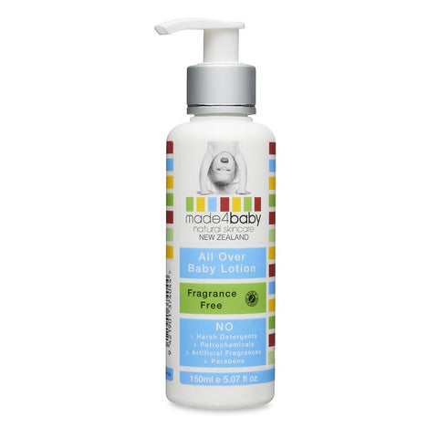Made4Baby All Over Baby Lotion (Fragrance Free) - WOWMOM