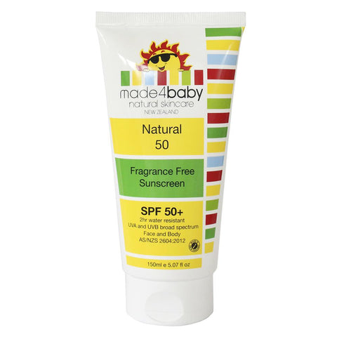 Made4Baby Sunscreen (Fragrance Free) SPF 50+ - WOWMOM
