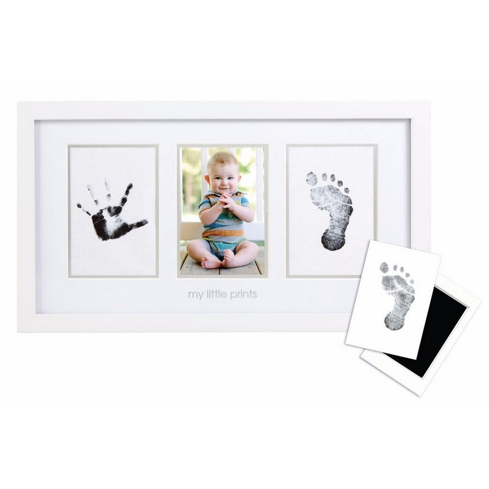 Pearhead Babyprints Photo Frame - White w/Closed Box (1)