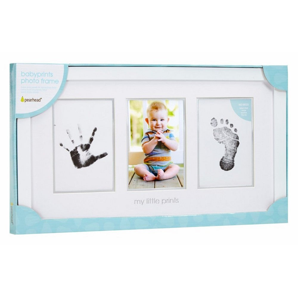 Pearhead Babyprints Photo Frame - White w/Closed Box (2)