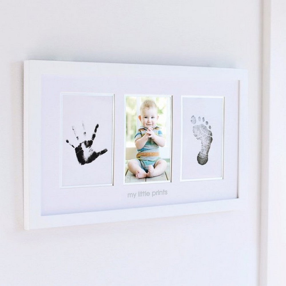 Pearhead Babyprints Photo Frame - White w/Closed Box (3)
