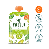 Piccolo Kale, Kiwi Peas & Pear with a hint of basil (Stage 1 - 100g ) - WOWMOM