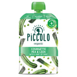 Piccolo Pure Vegetable - Courgette, Pea & Leek with a Hint of Mint (Stage 1 - 100g)