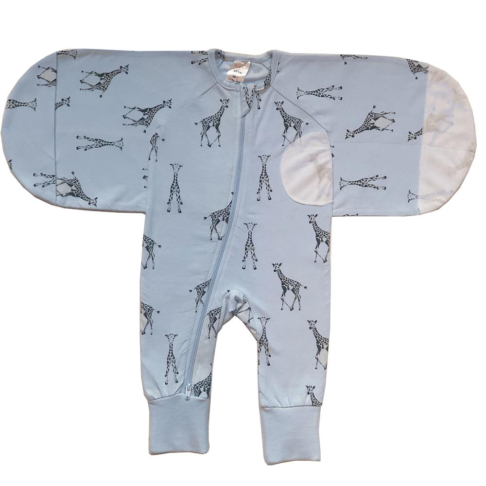 Sketch Giraffe 1.0 TOG Swaddle Suit – Large - WOWMOM