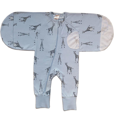 Sketch Giraffe 1.0 TOG Swaddle Suit – Small - WOWMOM