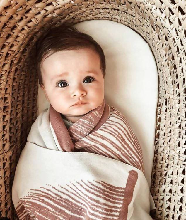 Luxury Cotton Swaddle Blanket