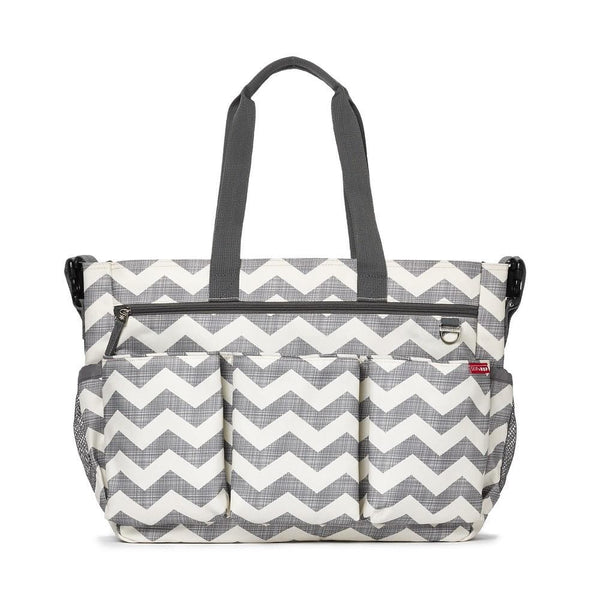 Skip Hop Duo Double Signature - Chevron - WOWMOM