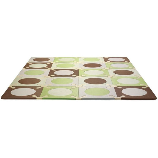 Skip Hop Playspot - Green/Brown - WOWMOM