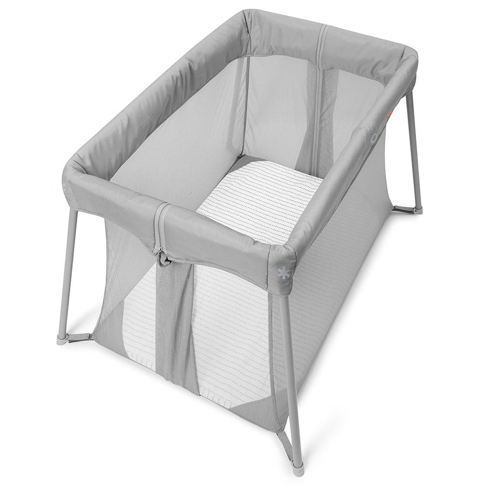 Skip Hop Play to Night Expanding Travel Crib- Grey/Clouds