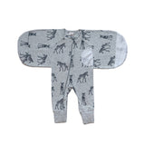 Sketch Zebra 1.0 TOG Swaddle Suit - Small