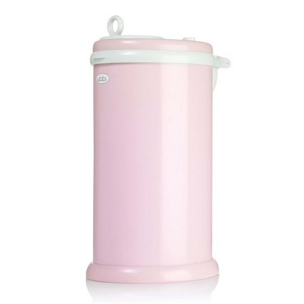 Ubbi Diaper Pail - Light Pink (4)