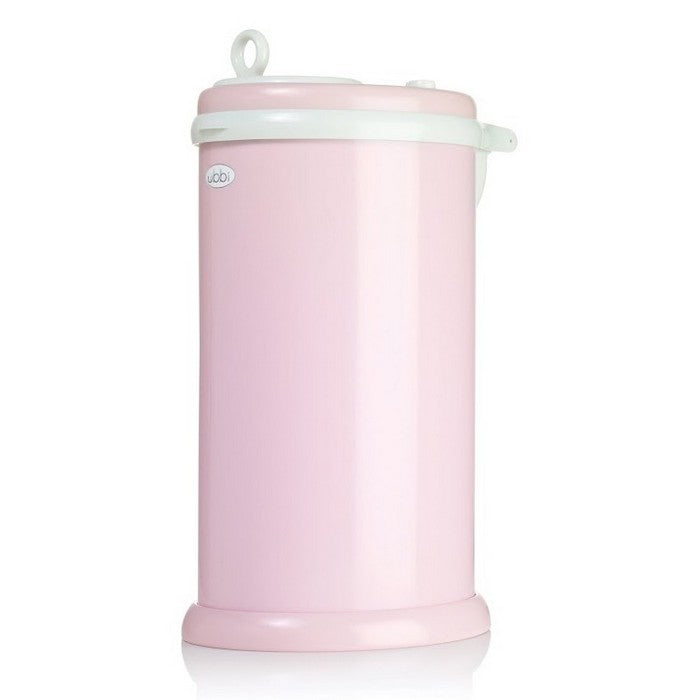 Ubbi Diaper Pail - Light Pink (1)