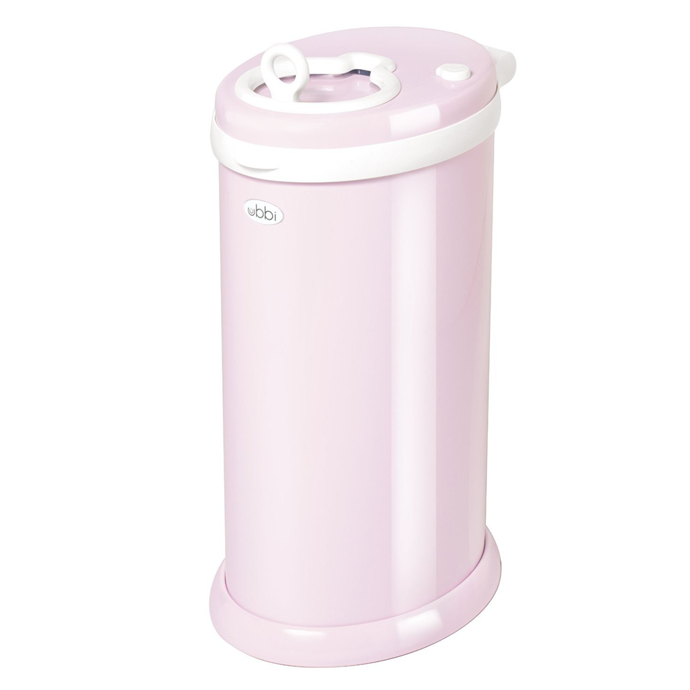 Ubbi Diaper Pail - Light Pink (5)
