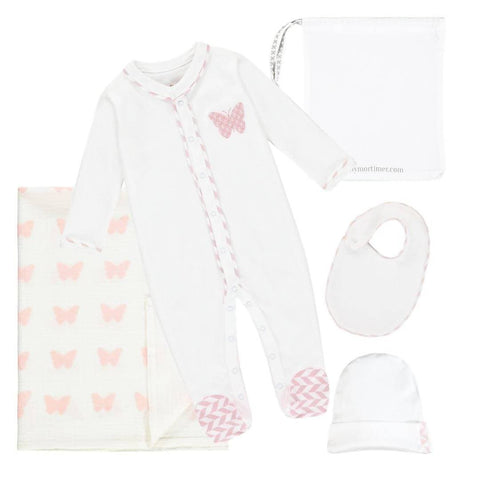 Lily Night Time Gift Set - Stripe - WOWMOM
