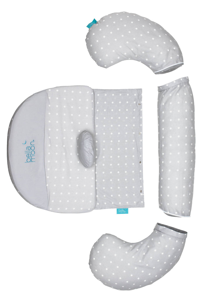 BellaMoon® Full Moon 7-in-1 Pregnancy and Nursing System - Dotted