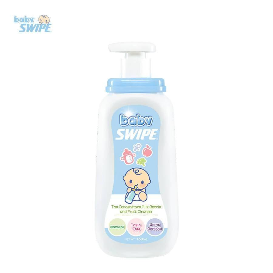 babySWIPE Milk Bottle & Fruit Cleanser 650ml - WOWMOM