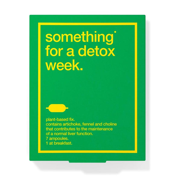 Suplementos - Something® For Detox Week (Detox)
