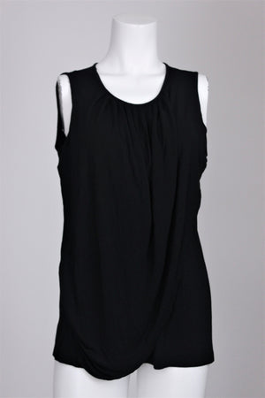 Mothers en Vogue - Goddess Drape Sleeveless Nursing Top - L