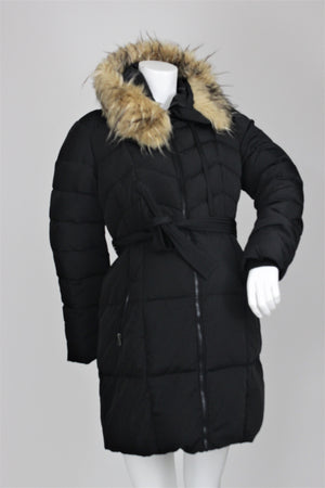 A Pea in the Pod - Quilted Puffer Down Filled Jacket - M