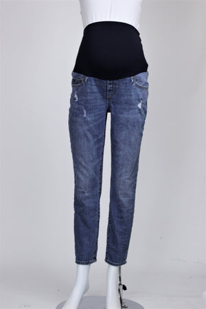 GAP Maternity - Distressed Skinny Jeans - 29