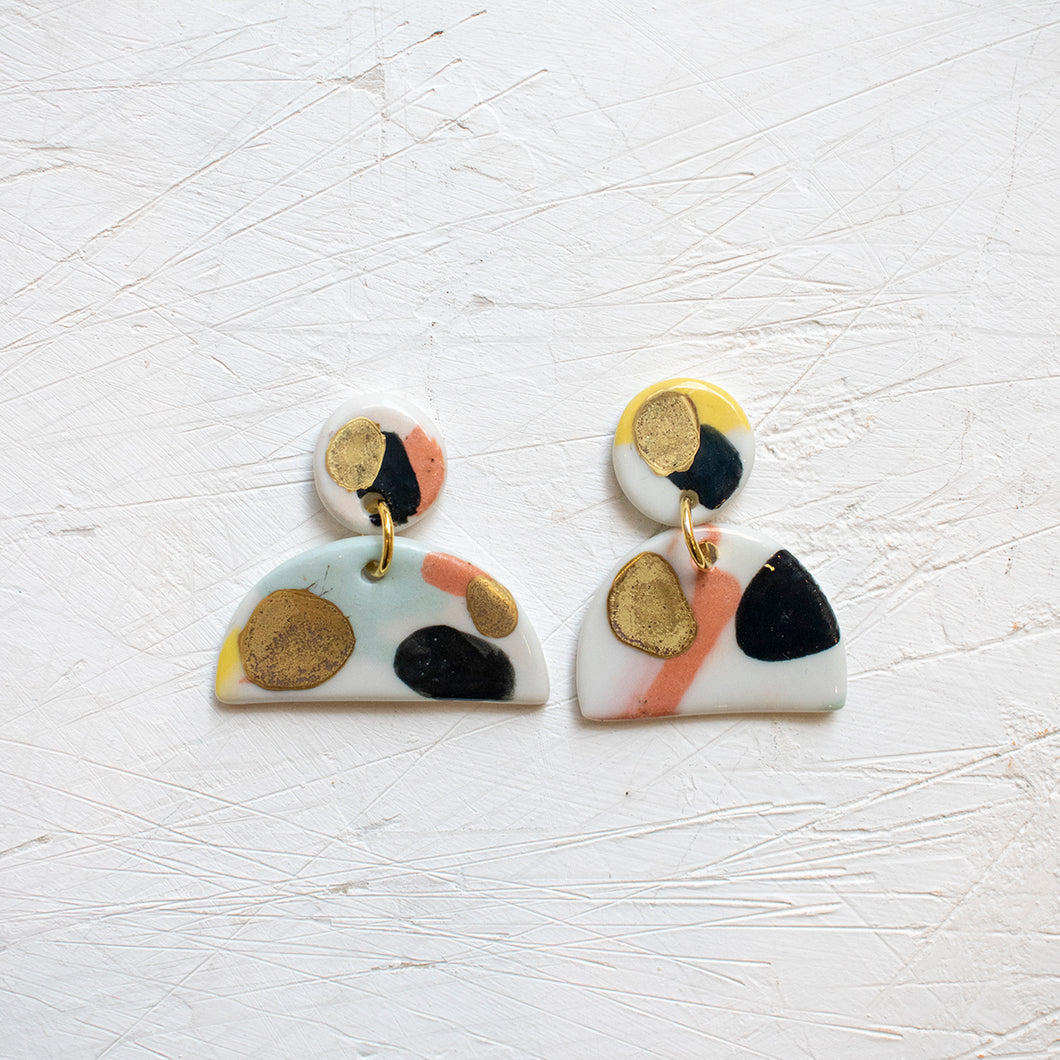 PORCELAIN EARRINGS #2